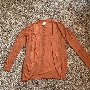A new day cardigan size medium